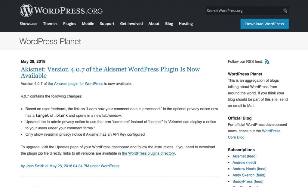 Planet WordPress