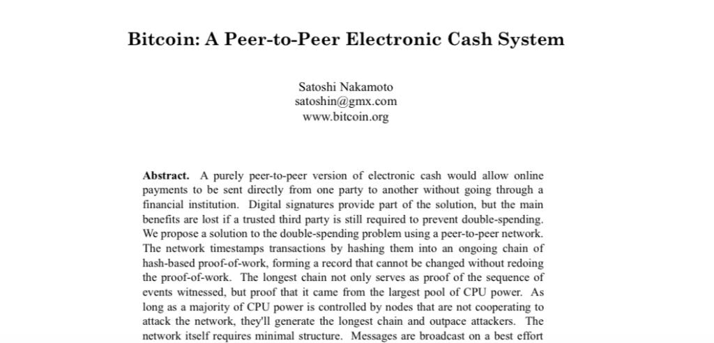 bitcoin - white paper