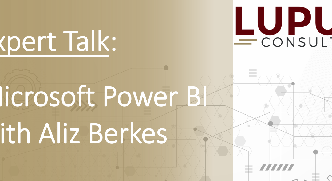 Expert Talk: Microsoft Power BI with Lupus Expert